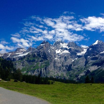 Kandersteg; Sliding through the Alps | Chasing Krista | Kandersteg, Switzerland