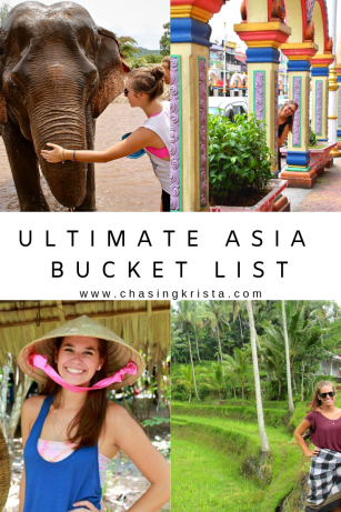 Ultimate Asia Bucket List | Chasing Krista | Asia