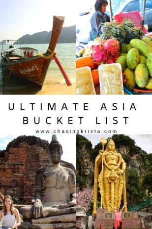 bucket list asia style