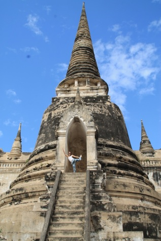 Get lost in the ancient capital of Ayutthaya