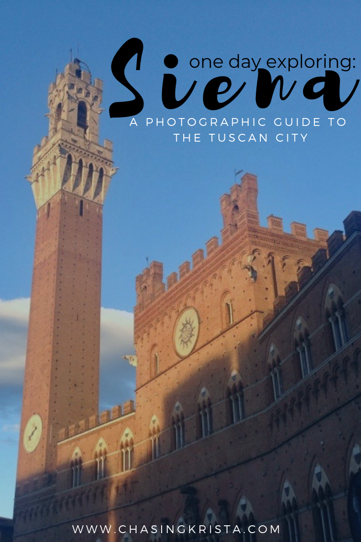 One Day in Siena   Chasing Krista   Siena, Italy